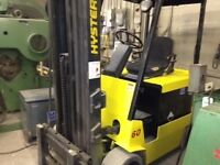 4 stage electric Hyster 6000 lb