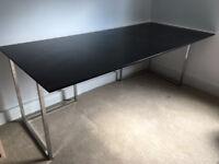 glass trestel table (extra large)