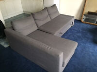 IKEA sofa bed in great condition. Priced to clear.