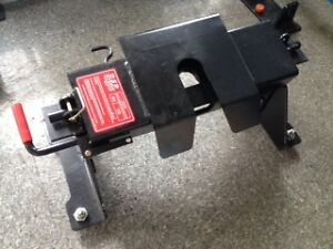 Ford Superduty OEM prep system fifthwheel hitch
