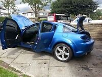 "MAZDA RX8 BREAKING ..INC 18"" ALLOY WHEELS"