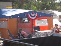 Retro Caravan Awning