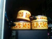 Antique pot set