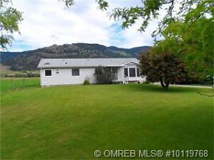 REDUCED! 5 Acres with modular home