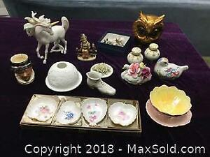 Vintage Bone China and Porcelain Items