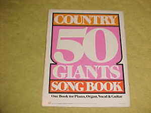 COUNTRY 50 GIANTS SONG BOOK