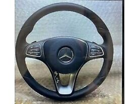 Mercedes Benz c class w205 steering wheel with air bag available call for any info