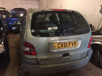 2001 Renault Megan 1.6 Petrol Breaking for Parts