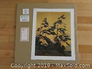 Group of Seven Tom Thomson PINE ISLAND GEORGIAN BAY unframed limited edition print with COA