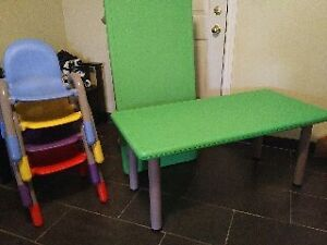 Kids Activity Table & Chairs Windsor Region Ontario image 1