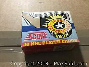 1990 hockey card set