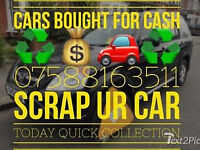 CARS BOUGHT FOR CASH SCRAP DISPOSE SELL UR /MY CAR TODAY FRIENDLY SERVICE BREAKDOWN RECOVERY ESSEX