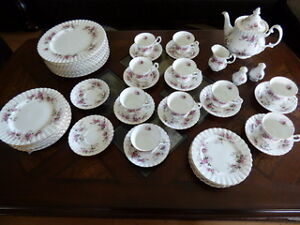 Discontinued Royal Albert Lavender Rose Bone China from England