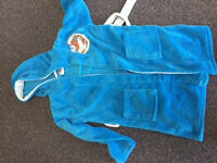 boys planes disney dressing gown 7-8 years old