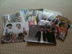 One Direction Magazines, Newspaper Cuttings & Posters