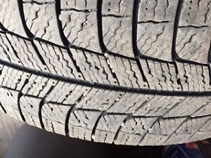 Michelin X-Ice Xi3 Studless Winter Tires on Rims Regina Regina Area image 4