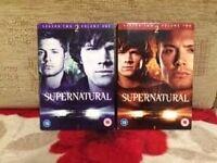 Supernatural DVDs Season 2,3,4