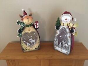 Décoration de Noël avec lumière Del
