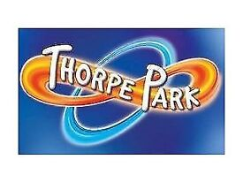 Thorpe Park tickets (2 for adult or child)