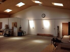 Shared woodworking workshop to rent in Hethersett