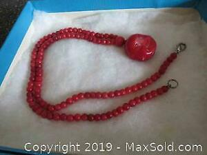 Coral Necklace A