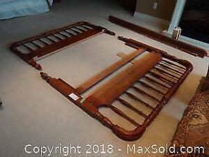 Queen Bed Frame C