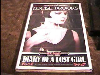 DIARY OF A LOST GIRL R72 MOVIE POSTER LOUISE
