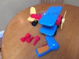 Battat take apart airplane