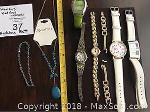 Women Watches, Avanti Necklace, Bracelets