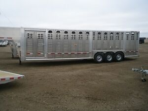 Get Your Cattle To Market In A New 2017 Wilson Stock Trailer