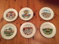 Villeroy and Boch salad plates
