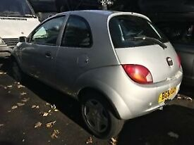 Ford KA 2001 1.3 Petrol Silver 3dr Breaking For Spares