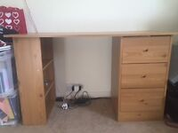Desk for Office or Bedroom! Not much use, no signs of damage or wear.