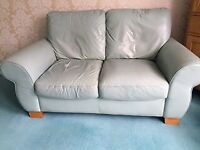 Leather Sofa (3 seater + 2 seater + stool)
