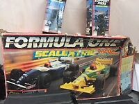 SCALETRIX-Three boxes of scalextric for sale – Hornby/vintage tri-ang