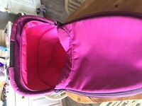 Quinny Foldable Carry cot Pink Passion