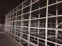 joblot 10 bays link industrial shelving (pallet racking, storage )
