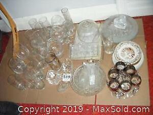 Glassware And Plates A