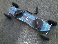 KHEO Air-S Mountain board, All terrain board, Skateboard style Snowboard trainer! Quality gear.