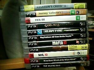 PS3 Games Holiday Sale