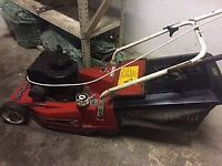 'Empress' 16 Mountfield petrol push lawnmower with Briggs and Stratton petrol engine