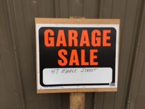 Garage Sale - 47 Maple Street, MORELL