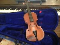 Violin in good condition with Case and Bow