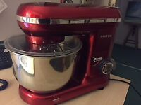 Red. Brand new. Salter Stand Mixer