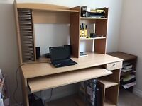 Computer Desk & Swivel Chair