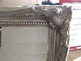 ANTIQUE SILVER - Shabby Chique - Dressing / Hall Mirror