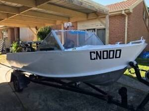 Updated 3.9 Metre Open Cab Boat with Trailer Mordialloc Kingston Area Preview
