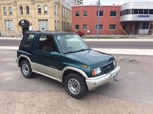 1998 Suzuki Sidekick Coupe (2 door) - NO RUST! Certified