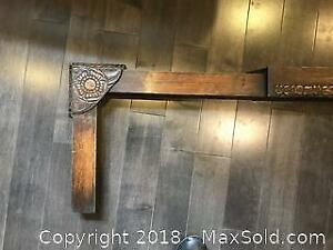 Antique Fireplace hearth Fender Pickup A