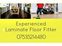 Experienced laminate floor fitter.